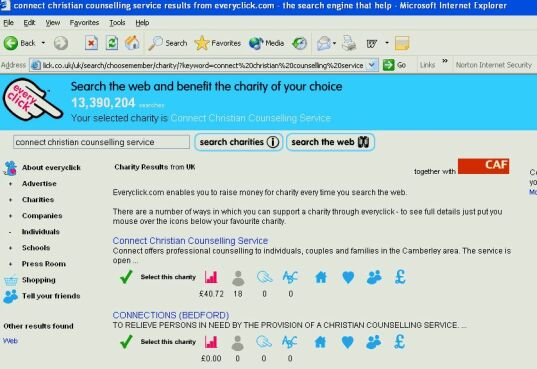Everyclick Internet Search Engine